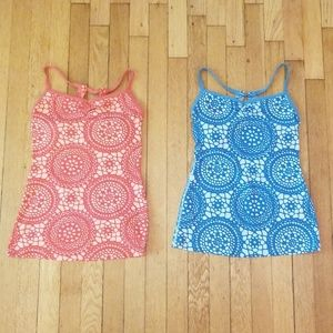 Set of 2 Lucy Workout Tank Tops